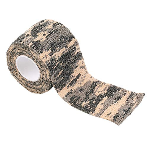 VHJ Sport Selbstklebende elastische Bandage 5 cm x 5 m Athletic Wrap Tape Knöchel Knie Arthrose Protektor Elastoplast Tape multi