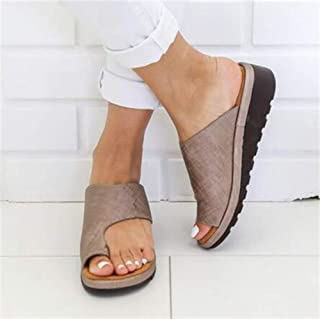 Comfortable Corrective Protection Women Sandals Mid-heel Wedges Sandals Women Shoes Casual Summer Slippers