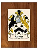 Carpe Diem Designs Palmer Coat of Arms/Palmer Family Crest 8X10 Photo Plaque, Personalized Gift, Wedding Gift