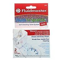 Fluidmaster 8302 Flush Sparkle Bleach Replacement Cartridge, 2 Pack by Fluidmaster [並行輸入品]