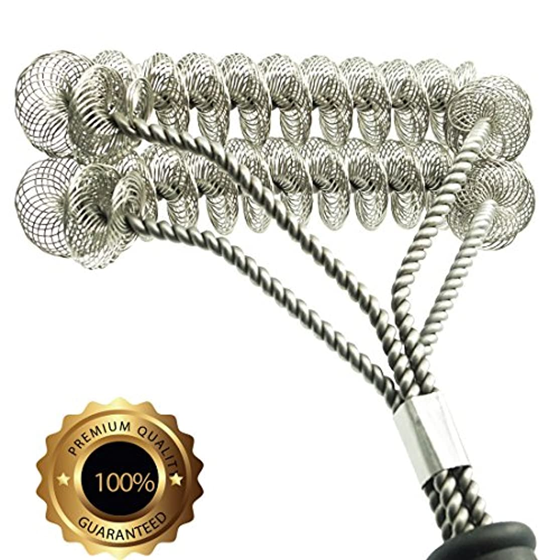 Grill Brush Bristle Free- BBQ Grill Cleaning Brush And Scraper- Safe 18
