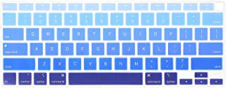 ProElife Ultra Thin Silicone Keyboard Cover Skin for MacBook Air 13 Inch 2020 with Touch ID (MODLE A2179 and A2337 Apple M...