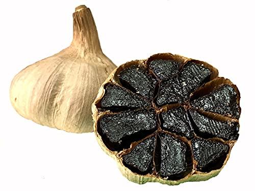 Schwarzer Knoblauch aus Las Pedroñeras / Spanien | 4 Knollen | 90 Tage fermentiert