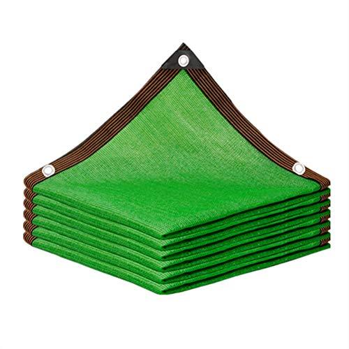 GHHZZQ Voiles d'ombrage Balcon Patio Anti-UV Durable Voile d'ombrage carrée, Vert, Personnalisable (Color : Green, Size : 8x10m)