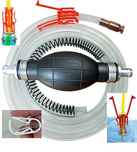 GasTapper Siphon Pump -Pro XL Fuel Hand...