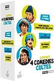 Coffret 4 comédies cultes - Marche à l'ombre + Viens chez moi j'habite chez une copine + Les spécialistes + Les frères Pétard [Francia] [DVD]