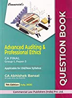 Commercial's Advanced Auditing & Professional Ethics CA Final Group-1, Paper-3 - 7/e, july 2020