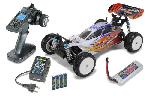 Carson 500404042 - 1:10 X10EB Dirt Warrior BL Water-Pro 100% RTR