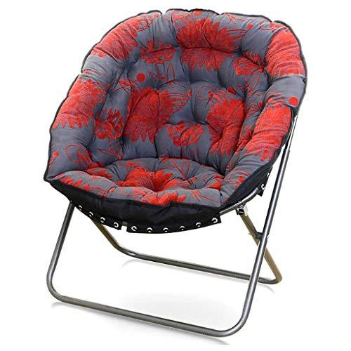 Lw outdoor inklapbare campingstoel, grijs, luxe bank, klapstoel, huishoud-, slaapzaal, computerstoel, 4 kleuren