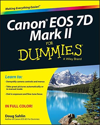 Canon EOS 7D Mark II For Dummies (English Edition)