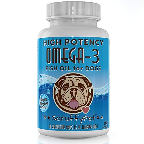 ScruffyPet Pure Omega 3 Wild Fish Oil