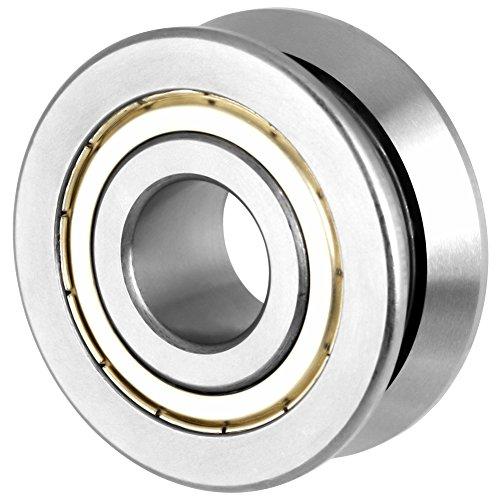 V-Nut-Kugellager 20 × 57 × 22 MM Rollenführung Kugellager-Zubehör Stahl