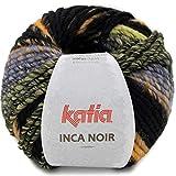 Lanas Katia Inca Noir Ovillo de Color Beis Cod. 360