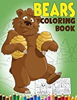 Bear Coloring Book: An Animal Coloring Book for Kids with 60+ Coloring Pages of Cute Bears including a Brown Bear, Panda Bear, Teddy Bear and more... (Kidd's Coloring Books)