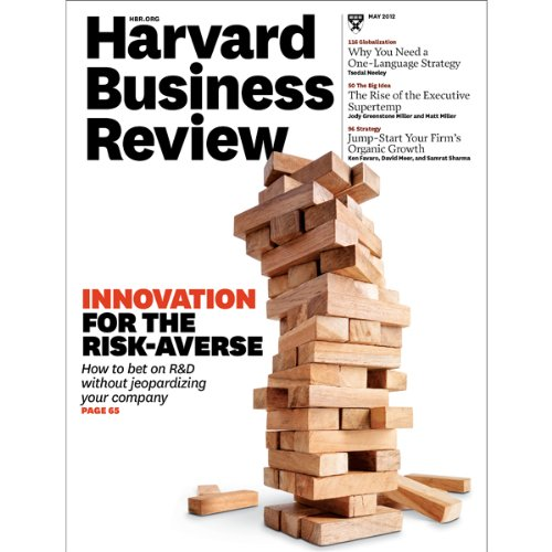 Harvard Business Review, May 2012 copertina