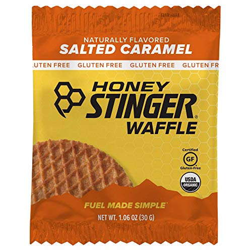 Honey Stinger Organic Gluten Free Waffle, Salted Caramel, 1.06 Ounce (6 Count) $1.39 @Amazon (backordered)
