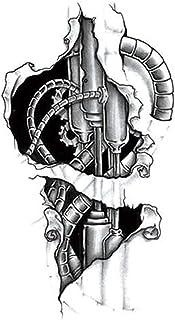 Qqinghan Vleugel Heilige Angel Waterdichte Tijdelijke Tattoo Sticker Brave Knight Warrior Flash Tattoos Body Art Arm Fake ...