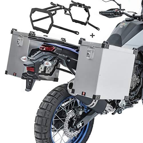 Maletas Laterales Aluminio para BMW F 800 GS/Adventure 08-18 Namib 35-40l Soporte