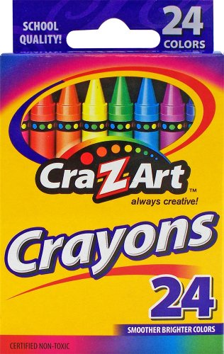 Cra-Z-Art Crayons, 24 count
