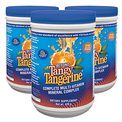 Beyond Tangy Tangerine - 420g canister - 3 Canisters