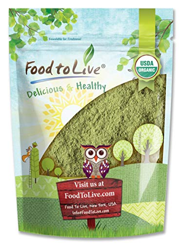 Organic Broccoli Powder, 2 Pounds — Non-GMO, Raw, Kosher, 100% Pure, Ground from Whole Vegetables,...