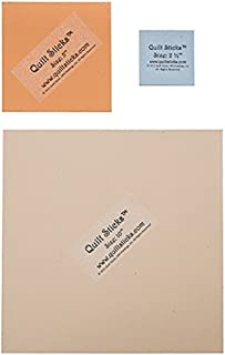 Quilt Sticks Square Pack Template Set – 3 Squares: Jelly Roll (2-1/2 Inch), Charm (5 Inch), Layer Cake (10 Inch)