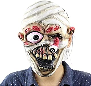 TANGGOOO 13 Types Masquerade Halloween Horror Mask Adult's Cosplay Realistic Latex Creepy Party Scary Mask Halloween Costume Mascarillas Holiday Must Haves The Favourite Anime