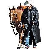 Double-s M&F Western Men's Adult Saddle Slicker (Small, Black)