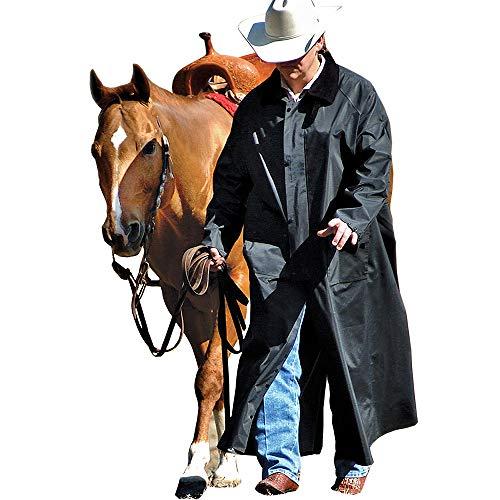 Double-s Men's Adult Saddle Slicker Black X-Large