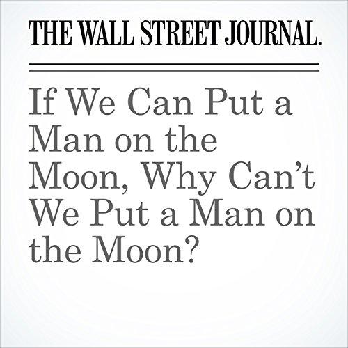 If We Can Put a Man on the Moon, Why Can't We Put a Man on the Moon? copertina