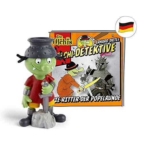 tonies Hörfiguren für Toniebox - Olchi-Detektive - Die Ritter der Popelrunde - ca. 43 Min. - Ab 6 Jahre -DEUTSCH