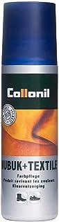Collonil Nubuck And Textile, Producto de reparación de zapatos Unisex Adulto, Dark Brown, 75.00 ml