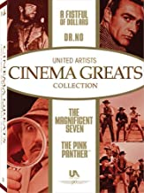 United Artists Cinema Greats Collection - Set 1: (The Pink Panther / A Fistful of Dollars / Dr. No / The Magnificent Seven)