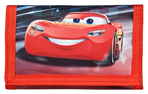Undercover CAAD7010 portemonnee, Disney Pixar Cars 3, ca. 8 x 13 x 3 cm.