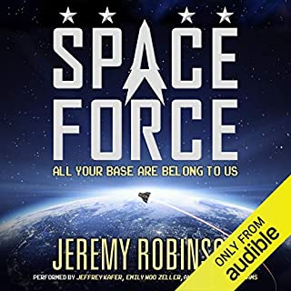 Space Force audiobook cover art