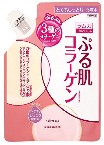 [Utena] Ramka Puru skin lotion Very moisturizing refill 180ml × 3 pieces