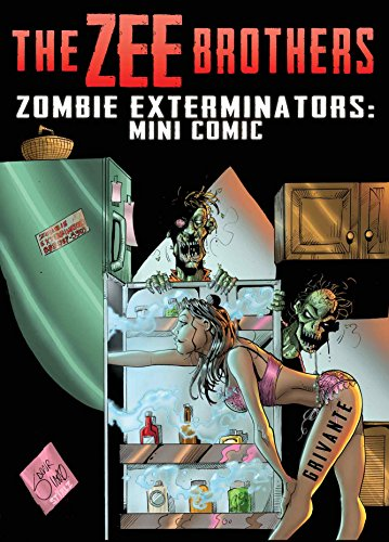 The Zee Brothers: Zombie Exterminators Mini Comic: Curse of the Zombie Omelet! (English Edition)