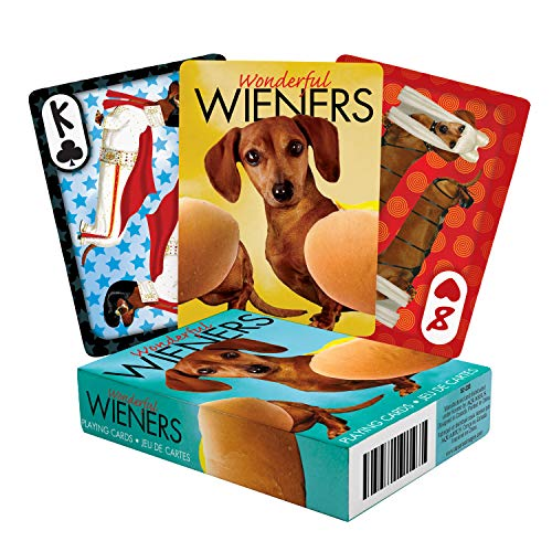 Aquarius Wonderful Wieners Playing Cards