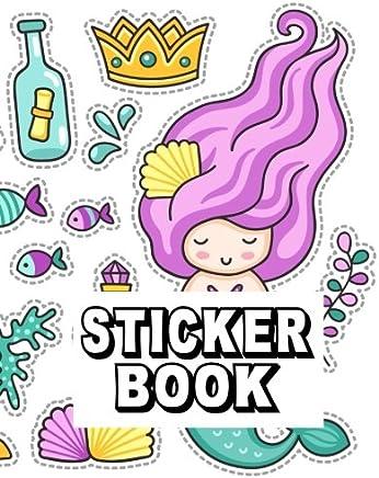 Download Sticker Book: Blank Sticker Book Journal Sticker