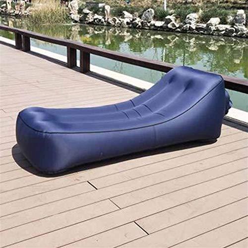 Zhangmeiren Lit D'air Hamac Sofa Gonflable En Plein Air Gonflable Bureau Portable Déjeuner Coussin De Lit Pause (Color : B)