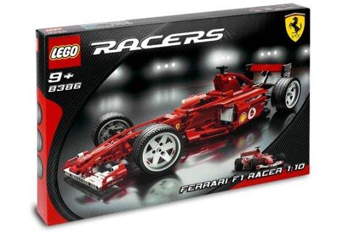 LEGO Racers 8386 - Ferrari F1 Racer, groß