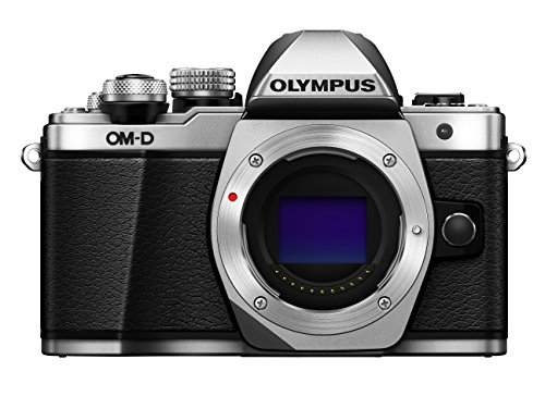 Olympus OM-D E-M10 Mark II Mirrorless Camera (Silver) - Body only