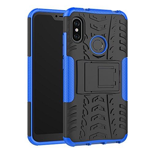Xiaomi Mi A2 Lite Custodia Cover, FoneExpert® Resistente alle Cadute Armatura dell'impatto Robusta Custodia Kickstand Shockproof Protective Case Cover per Xiaomi Mi A2 Lite/Redmi 6 PRO