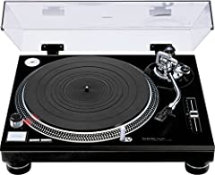 Quartz-synthesized direct-drive turntable Continuous-pitch adjustment up to &plasmin; 8% 0. 01% wow and flutter, -78dB rumble Precision molded aluminum die-cast cabinet Heavy rubber base