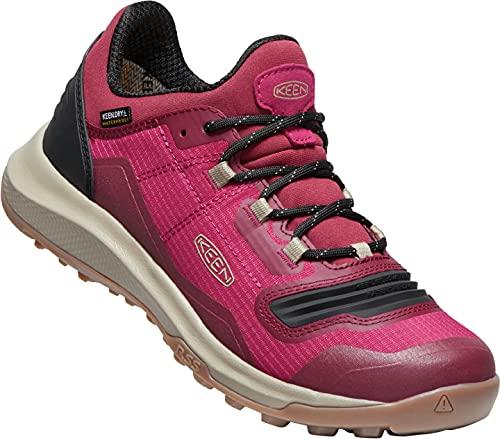 KEEN Tempo Flex WP, Zapatos para Senderismo Mujer, Jam Plaza Taupe, 36 EU