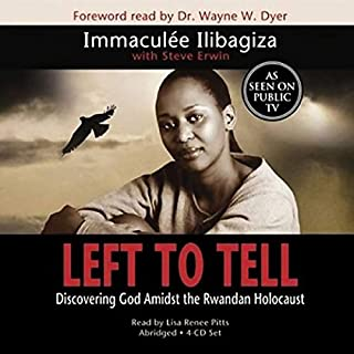 Left to Tell audiobook cover art
