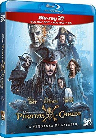 Pirates of the Caribbean: Salazar's Revenge [Import] [Blu-ray 3D + Blu-ray]