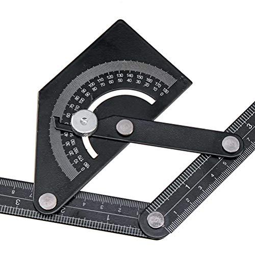 RongWang 230x500mm medidor de ángulo Digital inclinómetro gramil Prolongadores Digital ángulo Regla Angle Finder Herramienta de medición de 180 Grados