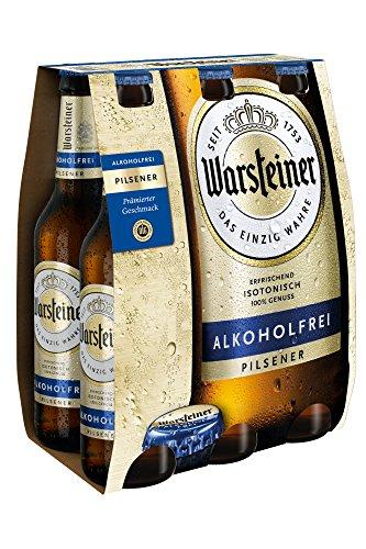 WARSTEINER Alkoholfrei Bierpaket MEHRWEG (6 x 0.33 l)