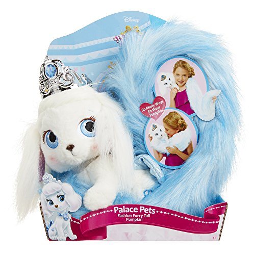 Palace Pets Pumpkin Fashion Furry Tails Pet Plush